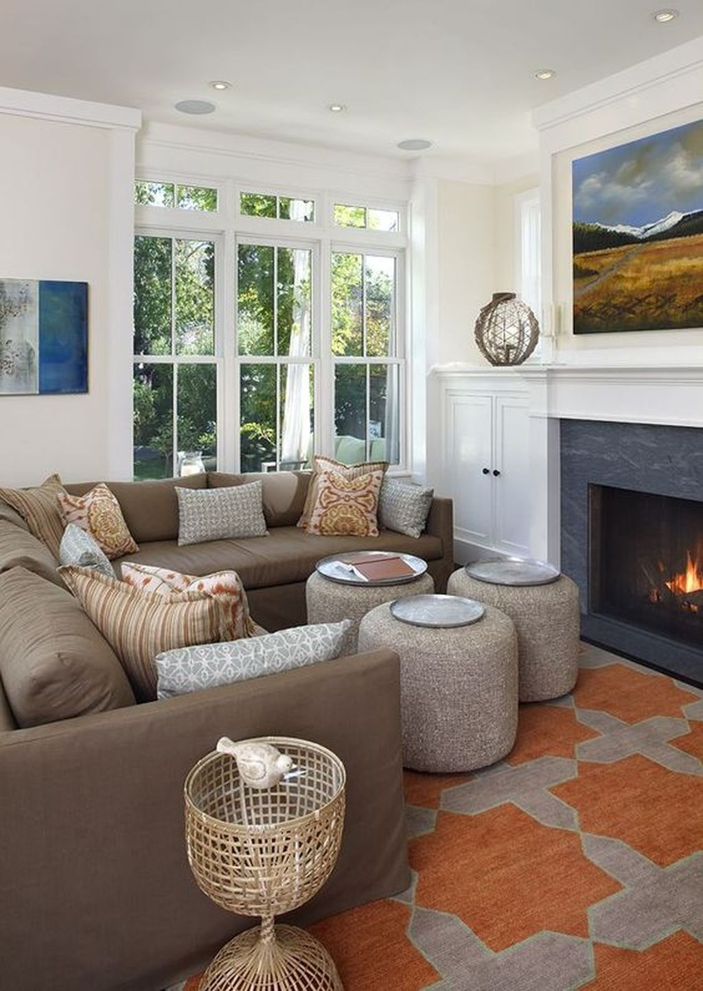 awesome winter simple living room decor ideas you must try