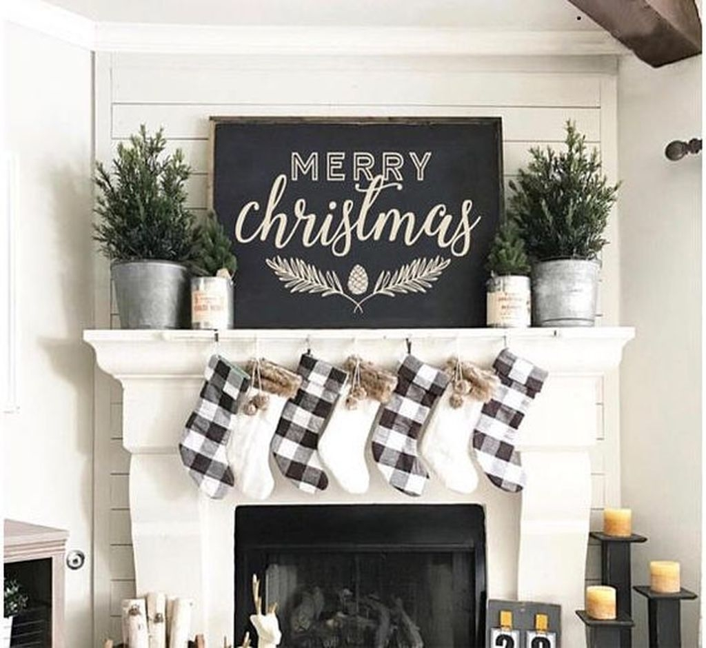 The Best Christmas Fireplace Decoration For Any Home Model 42