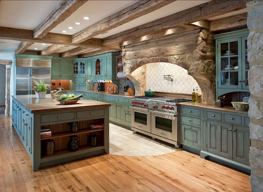 Amazing Remodeling Farmhouse Kitchen Decorations 47