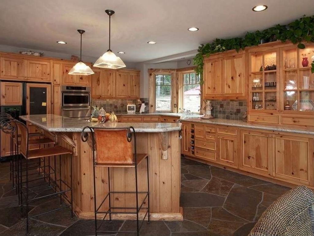 Popular Rustic Kitchen Cabinet Should You Love 29