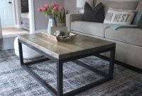 Nice Looking DIY Coffee Table 47