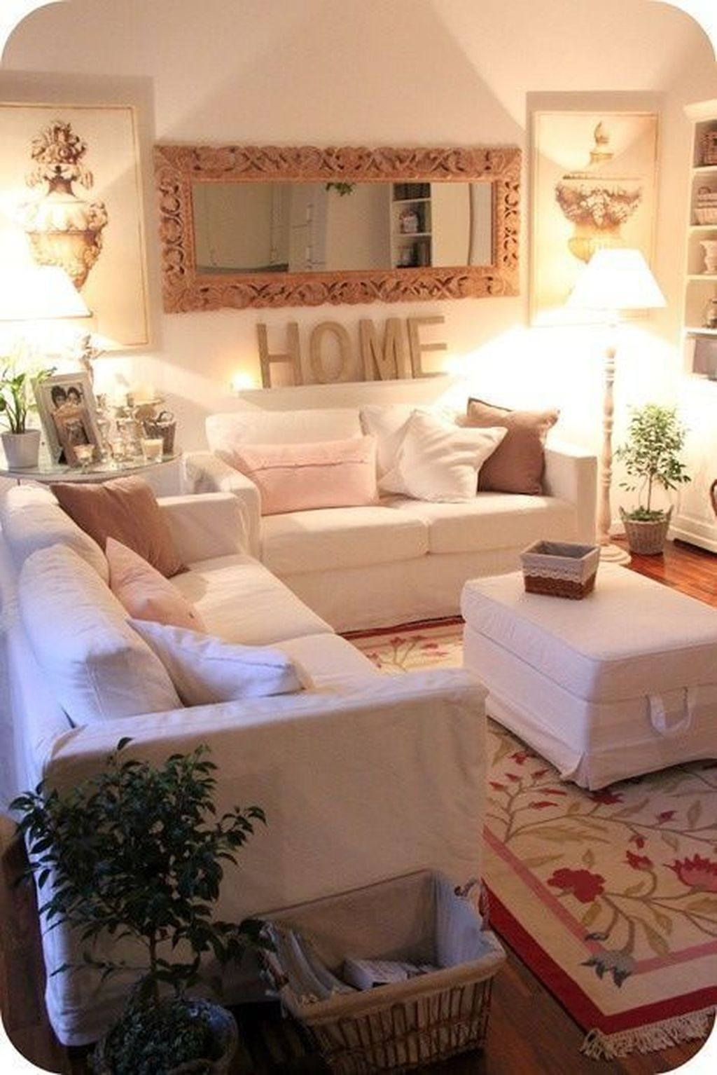 50 Nice Shabby Chic Living Room Décor You Need to Have ...