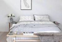 Minimalist Scandinavian Bedroom Decor Ideas 45