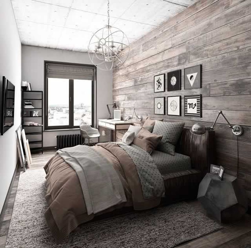 Lovely Rustic Bedroom Design Ideas 26