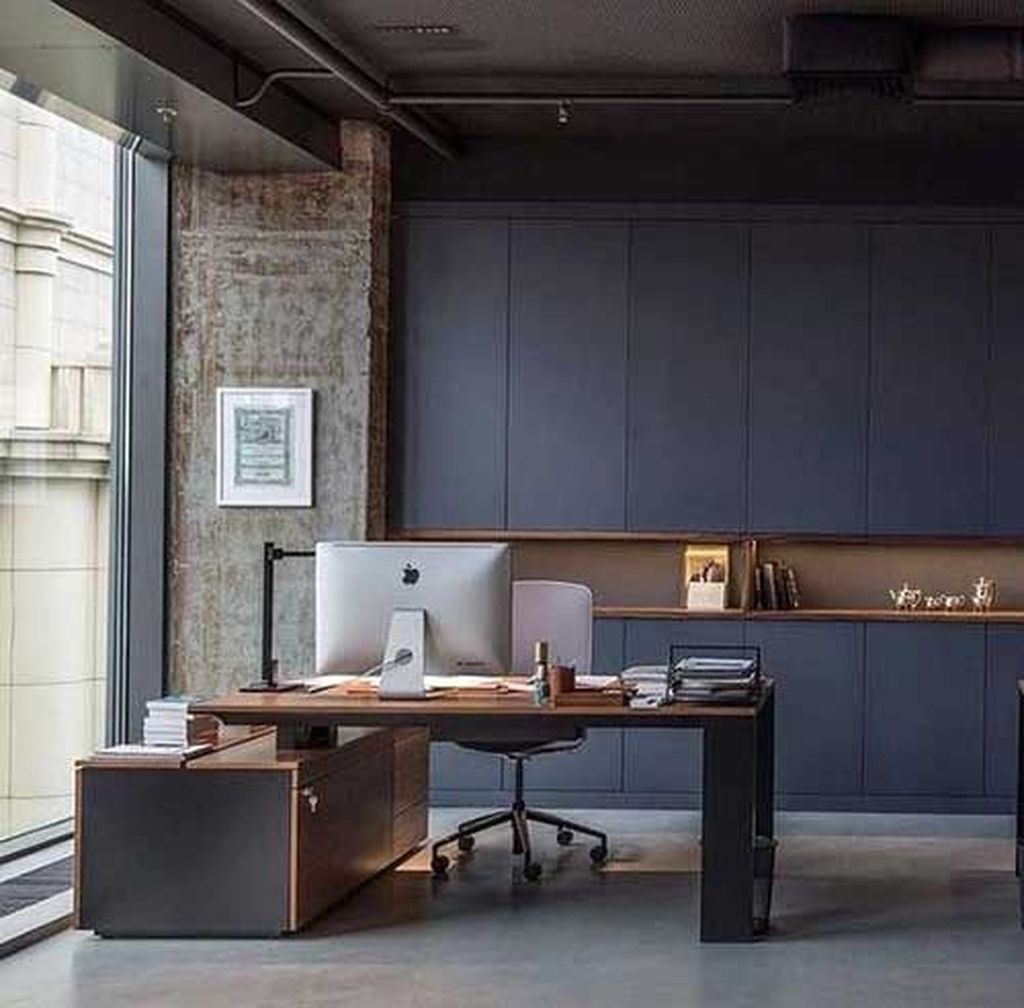 Stunning Contemporary Office Design Ideas 28