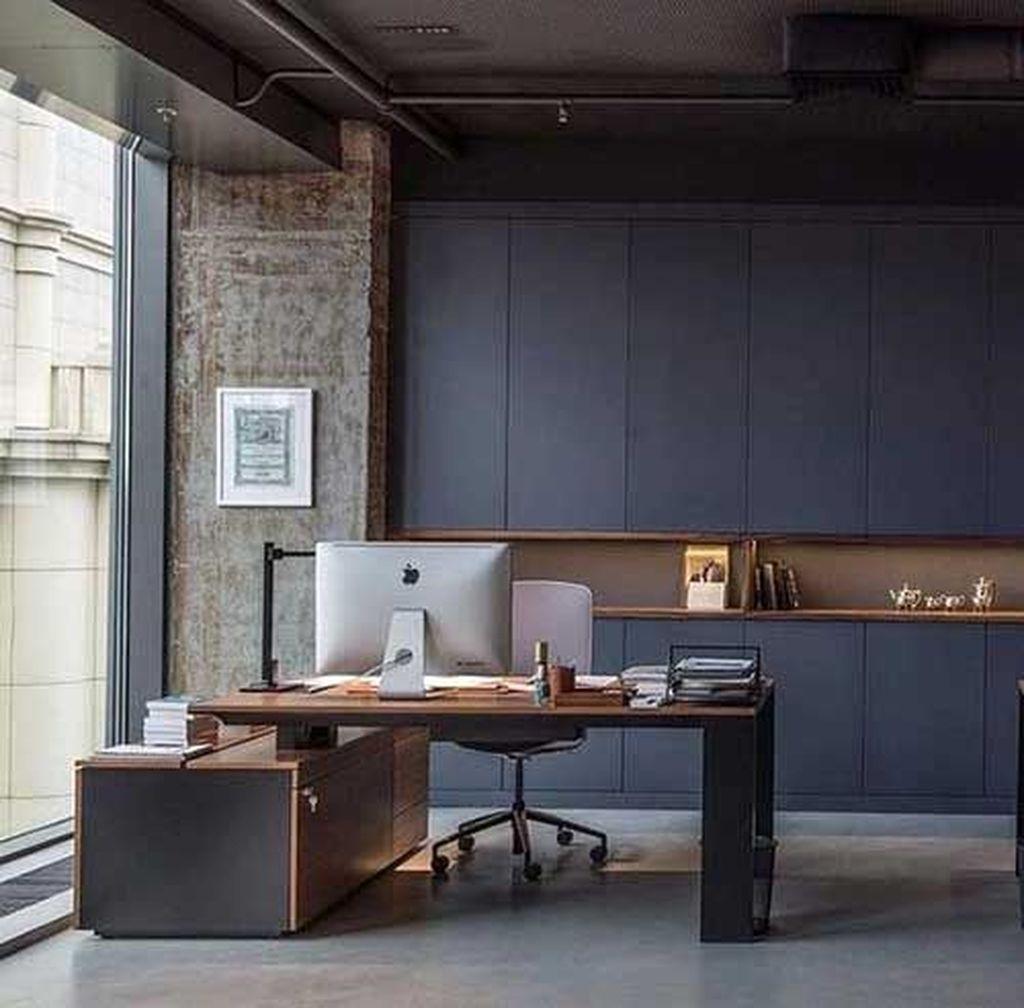 Stunning Contemporary Office Design Ideas 28