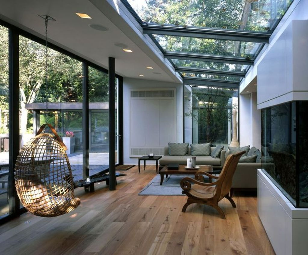Gorgeous Modern Sunroom Design Ideas To Relax In The Summer 31