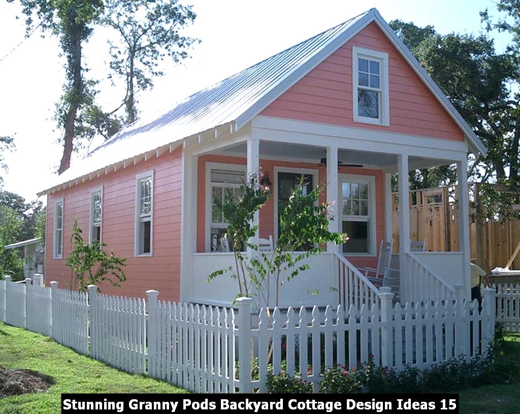 Stunning Granny Pods Backyard Cottage Design Ideas 15