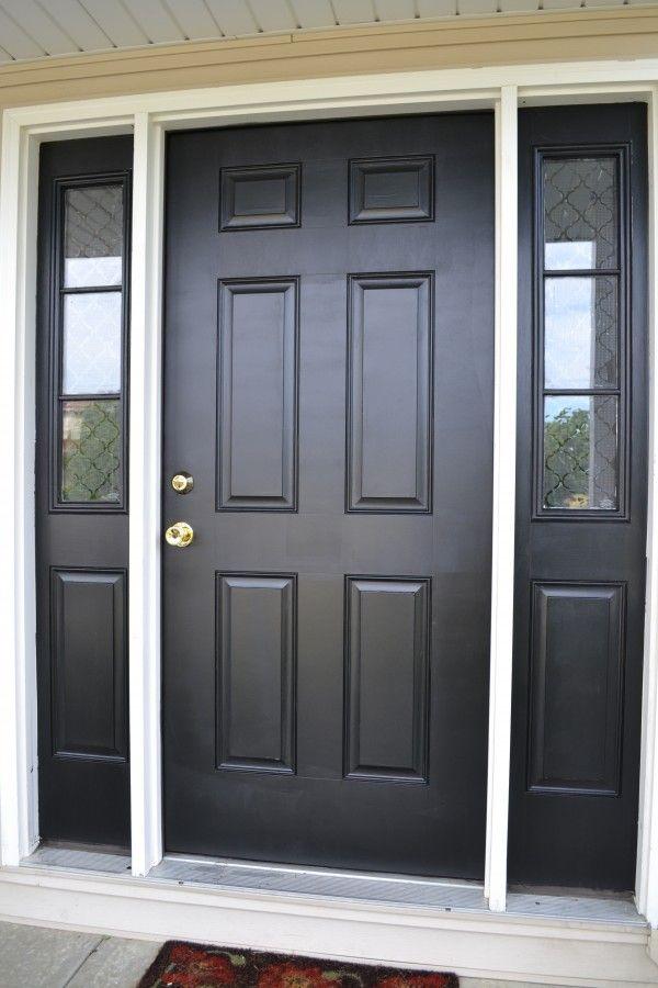 Exterior Door With Sidelights