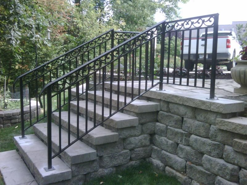 Handrails For Outdoor Steps