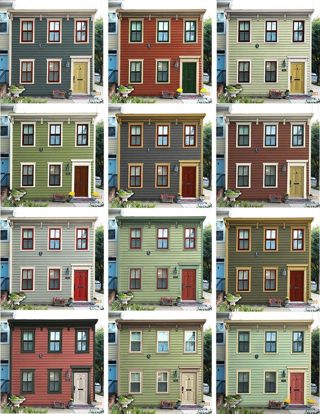 Exterior Home Colors