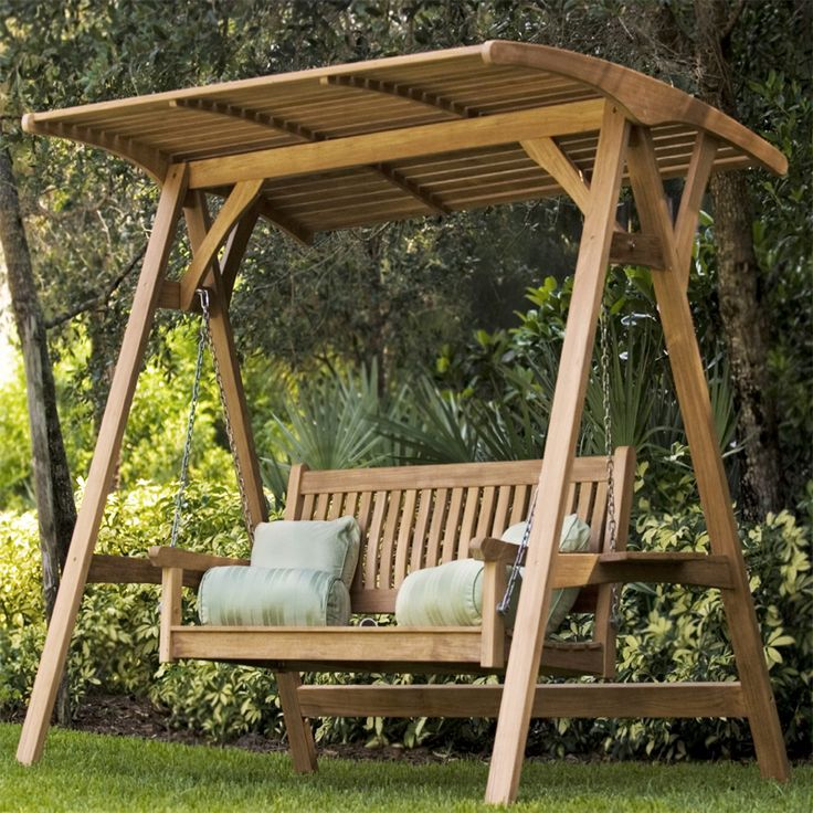 Outdoor Swings With Canopy For Adults