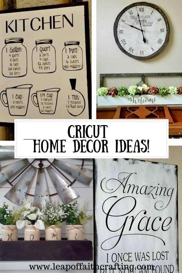 Home Decor Cricut Projects