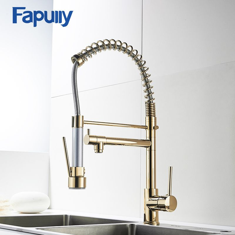 Kitchen Faucet With Sprayer