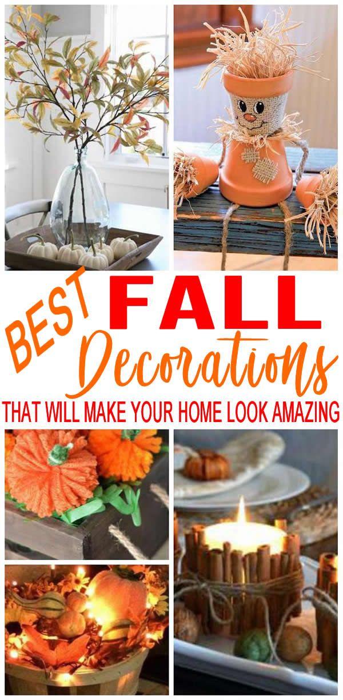 Homemade DIY Fall Decor
