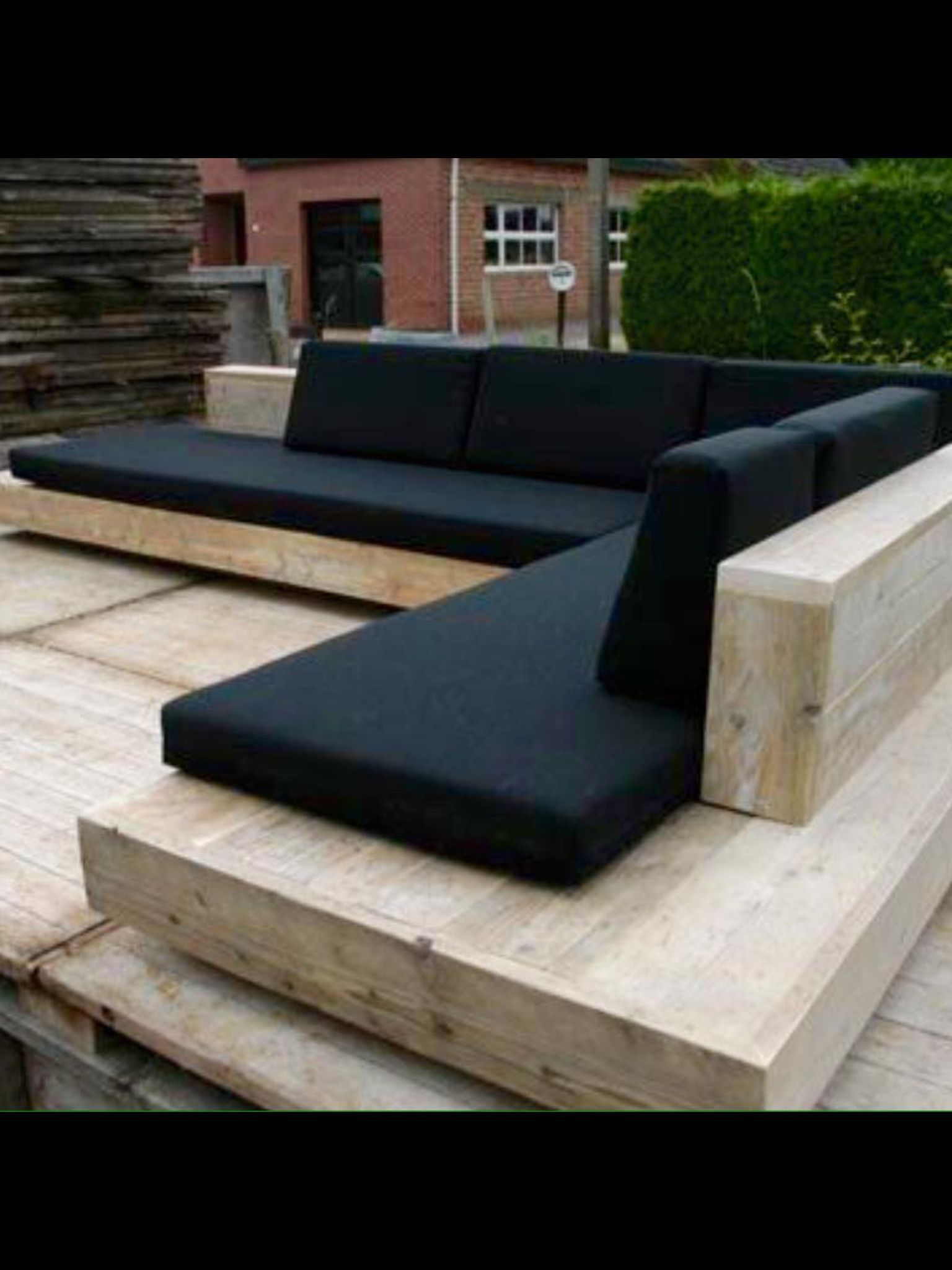 L Shaped Outdoor Couch