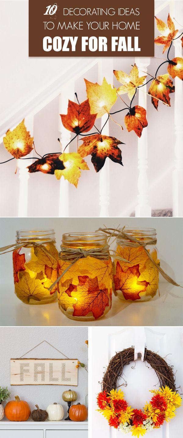 Fall Decorating Ideas DIY