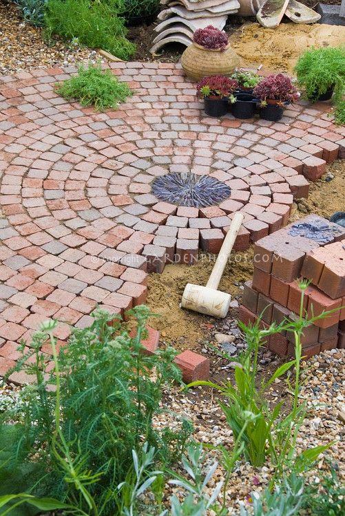 Garden Ideas With Bricks