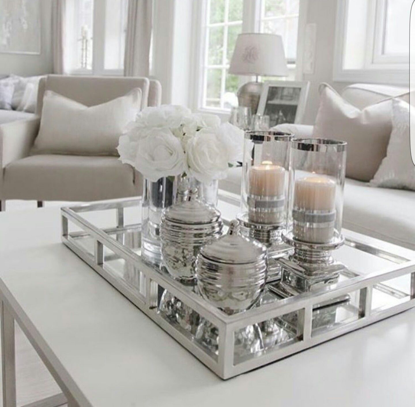 Living Room Table Decor