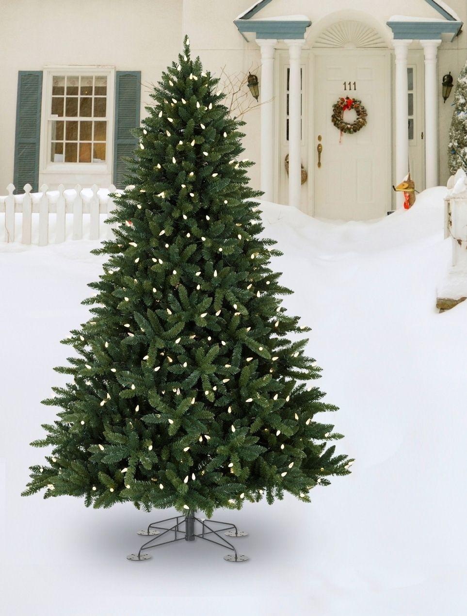 Outdoor Artificial Christmas Trees