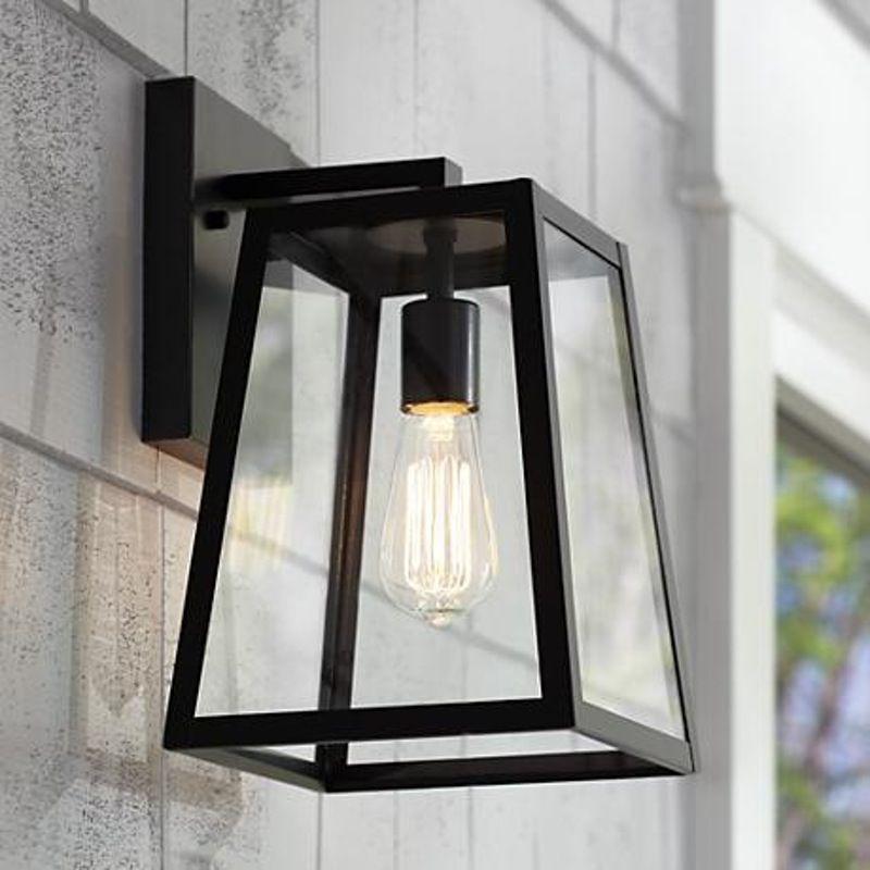 Black Outdoor Light Fixtures