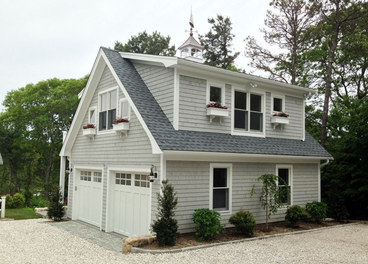 Detached Garage With Apartment
