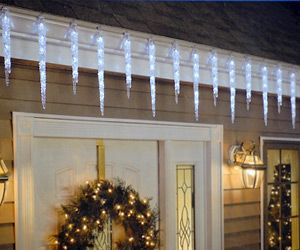 Outdoor Icicle Christmas Lights
