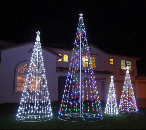 Led Outdoor Christmas Tree