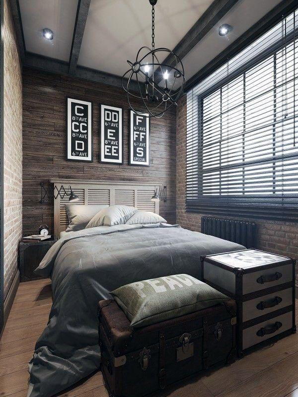 Mens Bedroom Decor