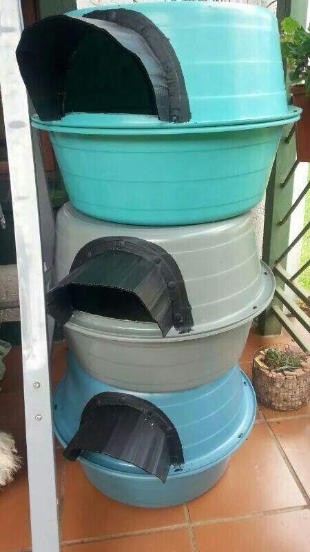 Waterproof Outdoor Cat House