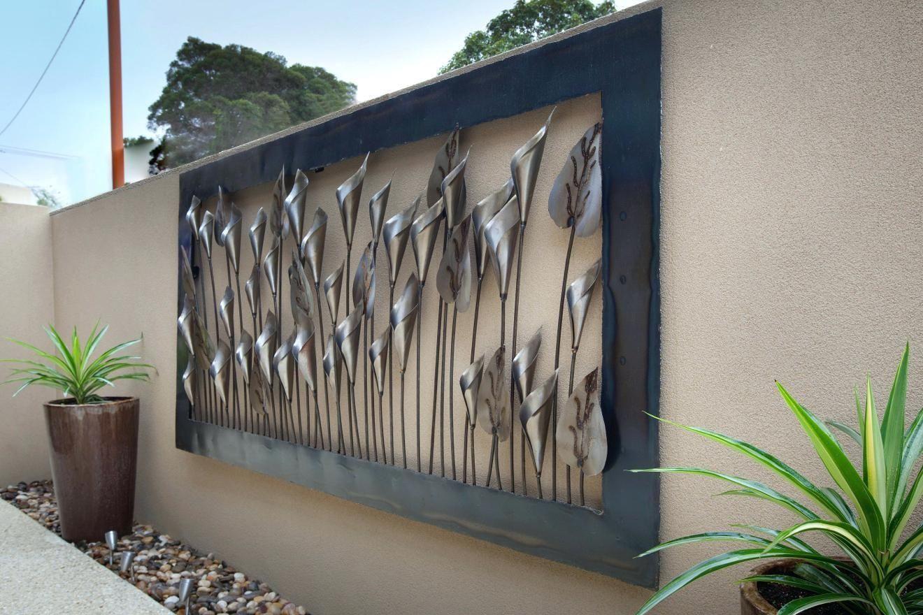 Outdoor Metal Wall Decor