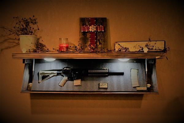 Gun Concealment Home Decor