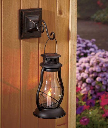 Outdoor Hanging Solar Lanterns