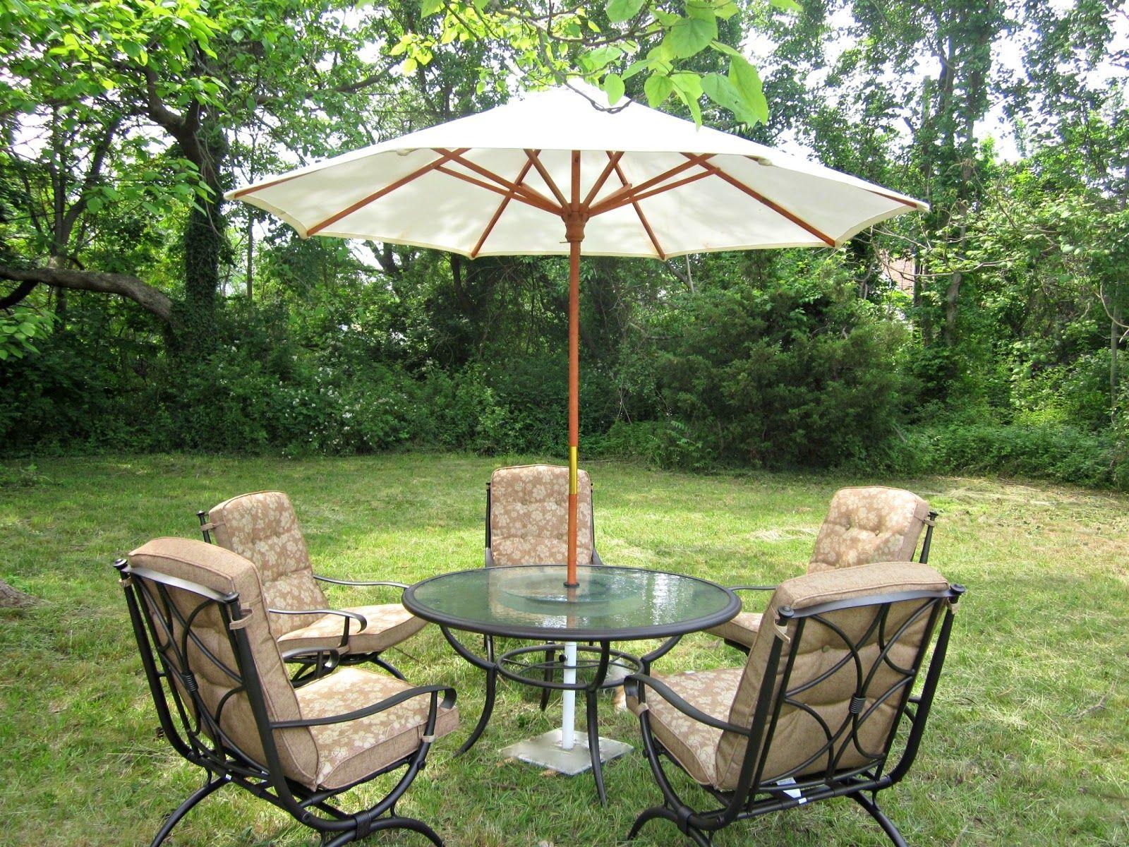 Patio Furniture With Umbrella