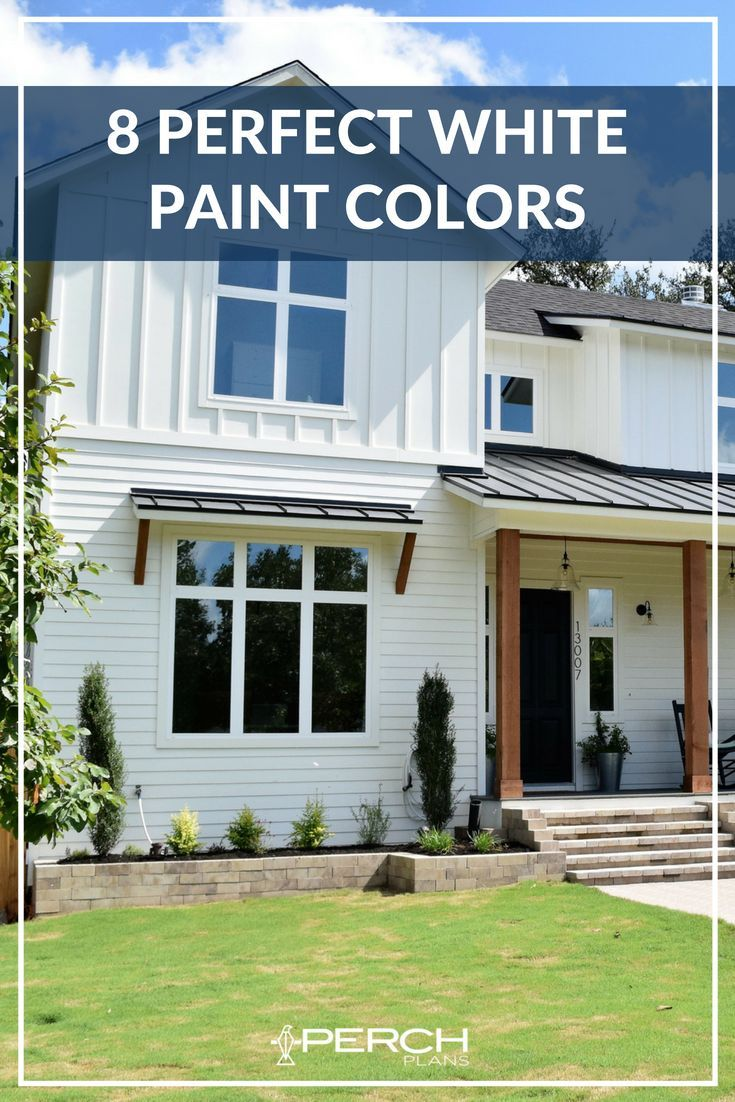 White Exterior Paint
