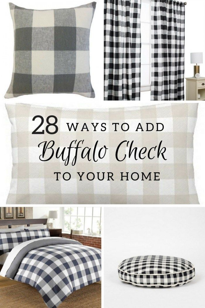 Buffalo Plaid Home Decor
