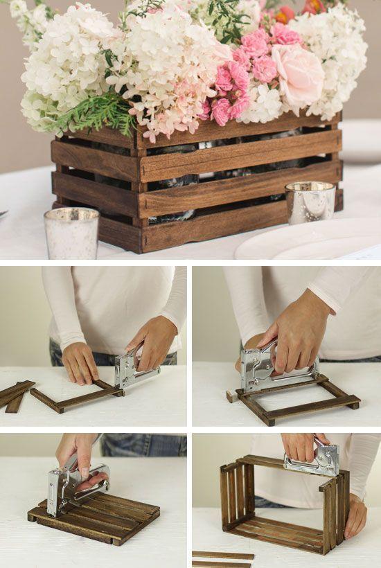 Low Budget Rustic Wedding Decor DIY