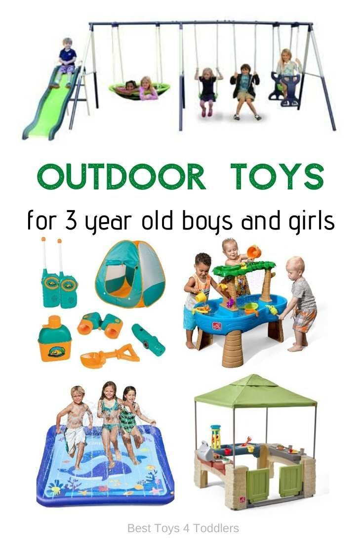 Outdoor Toys For 3 Year Olds