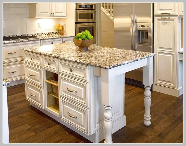 Kitchen Island With Granite Top