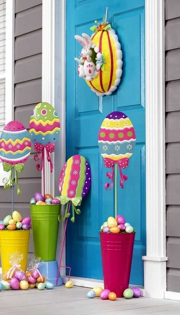 Outdoor Easter Decorating Ideas