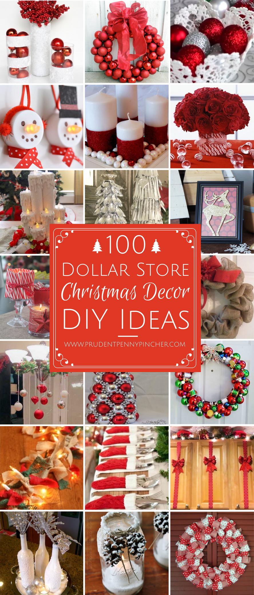 DIY Dollar Tree Christmas Decor