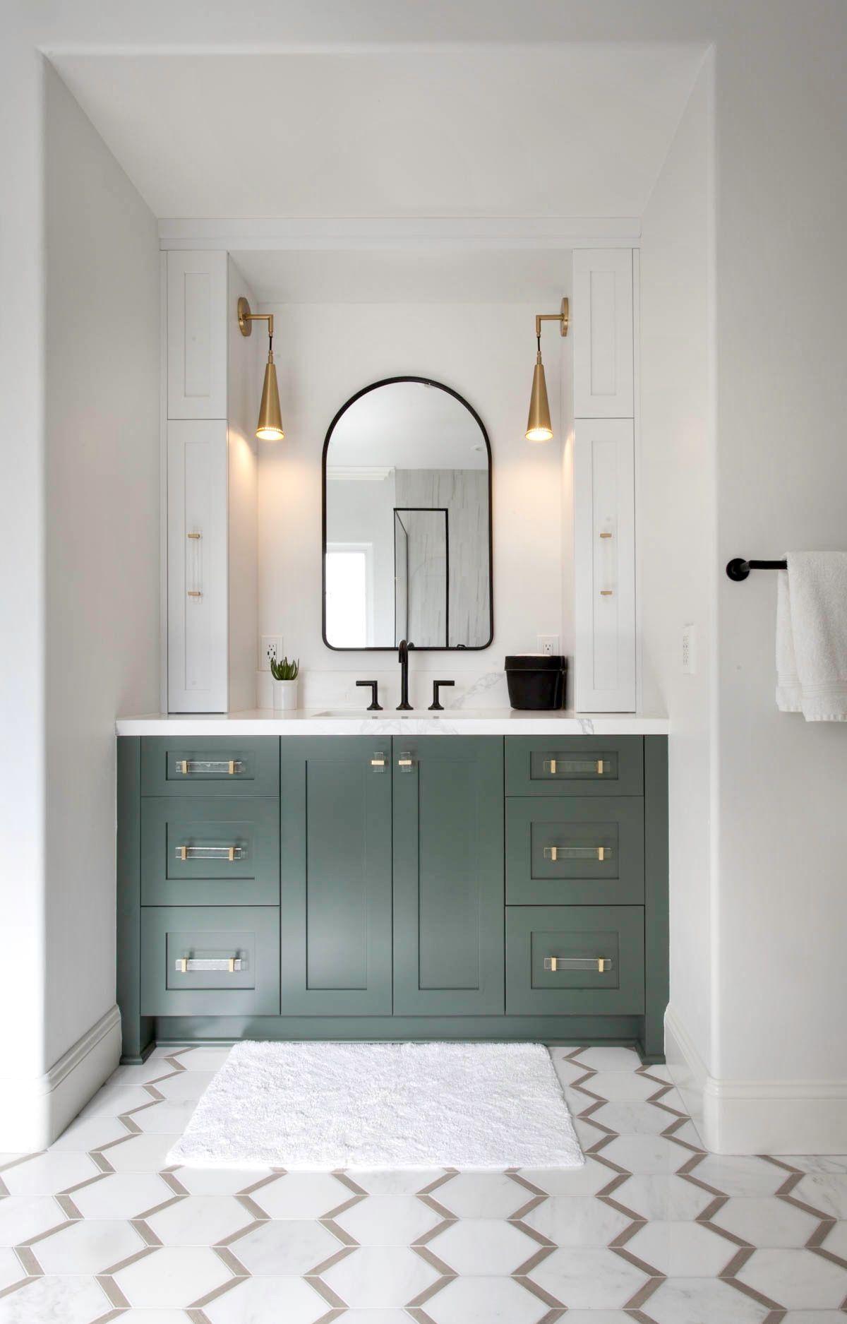 Green Bathroom Vanity