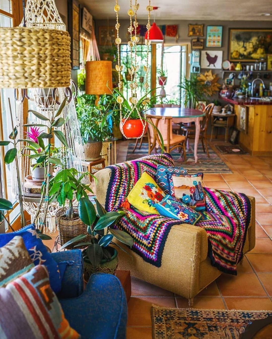 Boho Style Home Decor