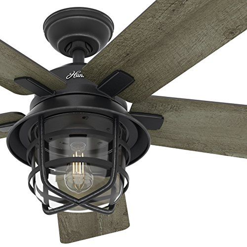 Outdoor Ceiling Fan With Light And Remote