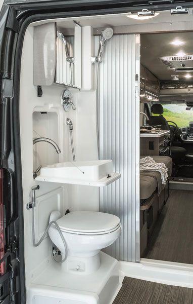 Camper Van With Bathroom