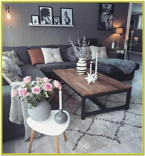 Grey Couch Living Room