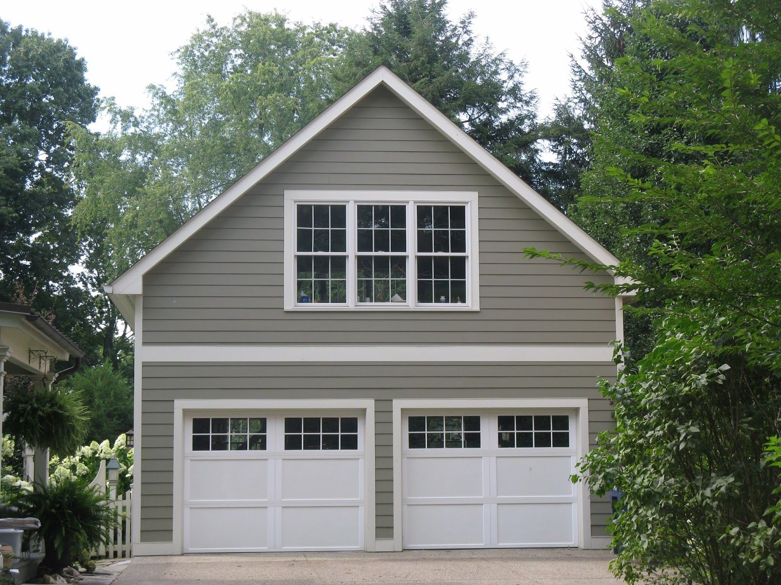 Garage With Apartment Above