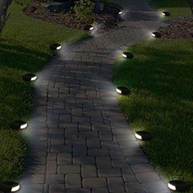 Solar Outdoor Pathway Lighting