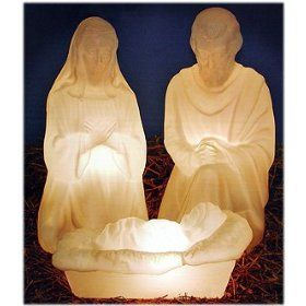 Plastic Nativity Set Outdoor