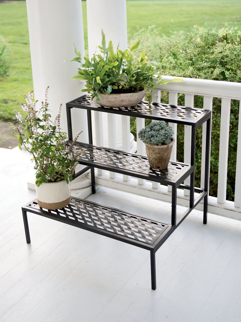 Outdoor Plant Stands Tiered